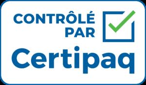 contrôlé par Certipaq